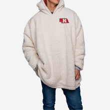 Load image into Gallery viewer, Nebraska Cornhuskers Hoodie - Reversible Big Logo