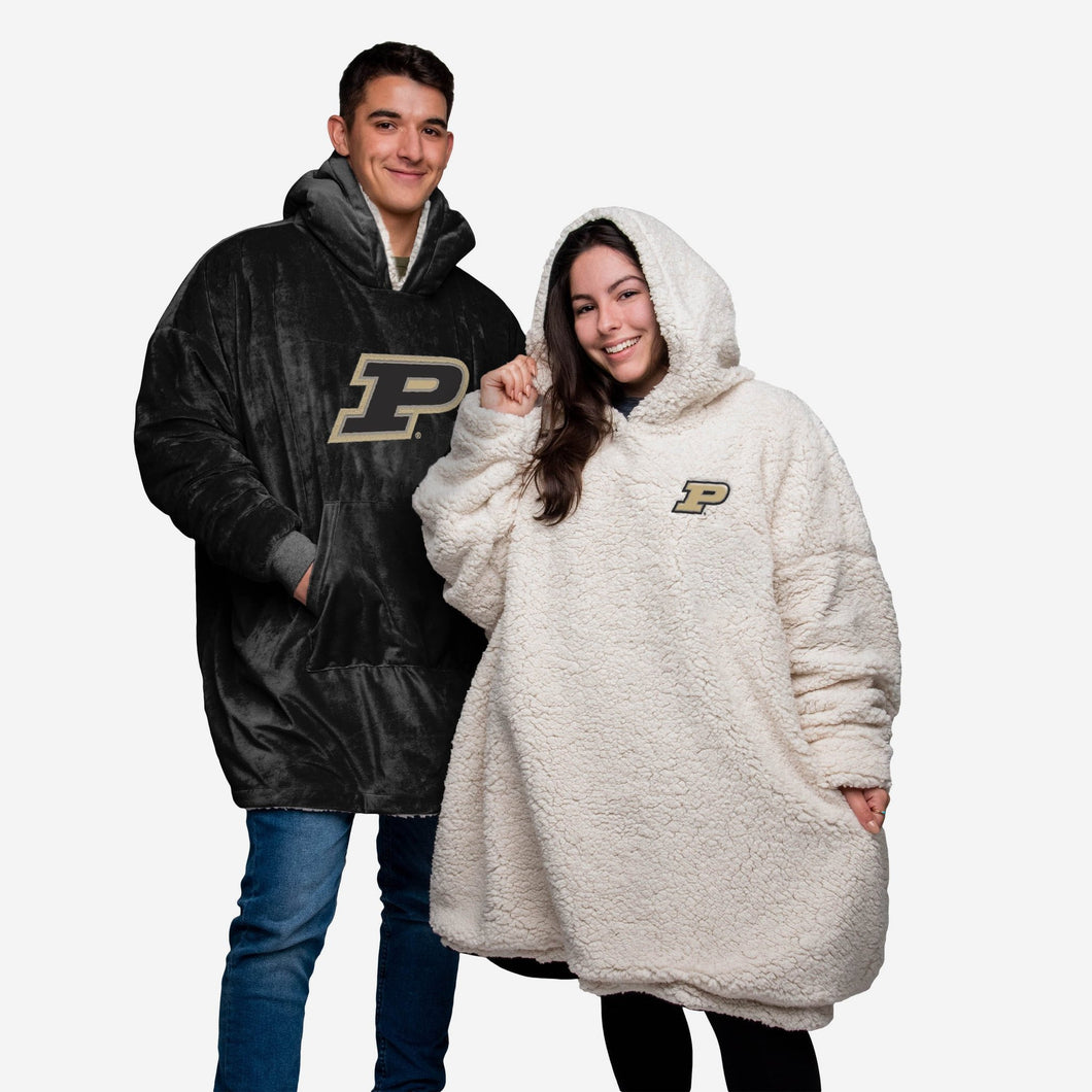 Purdue Boilermakers Hoodie - Reversible Big Logo