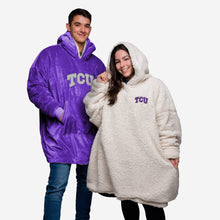 Load image into Gallery viewer, TCU Horned Frogs Hoodie - Reversible Big Logo