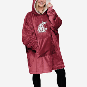 Washington State Cougars Hoodie - Reversible Big Logo