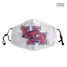 Load image into Gallery viewer, Houston Cougars Face Mask - Reuseable, Fashionable, Washable