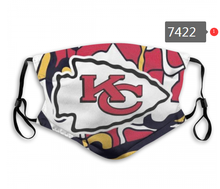 Load image into Gallery viewer, Kansas City Chiefs Face Mask - Reuseable, Fashionable, Several Styles