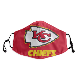 Kansas City Chiefs Face Mask - Reuseable, Fashionable, Several Styles
