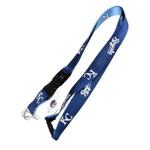 Kansas City Royals reversible lanyard - keychain badge holder