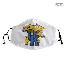 Load image into Gallery viewer, Kentucky Wildcats Face Mask - Reuseable, Fashionable, Washable