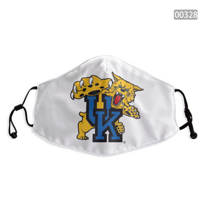Kentucky Wildcats Face Mask - Reuseable, Fashionable, Washable