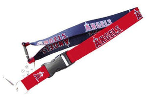 Los Angeles Angels reversible lanyard - keychain badge holder