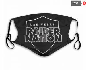 Las Vegas Raiders Face Mask - Reuseable, Fashionable, Several Styles