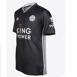 Leicester City Grey Away 19/20 Jersey - Custom Any Name or Number