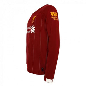 Liverpool Long Sleeve Home 19/20 Jersey - Custom Any Name or Number
