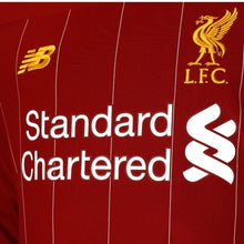 Load image into Gallery viewer, Liverpool Long Sleeve Home 19/20 Jersey - Custom Any Name or Number