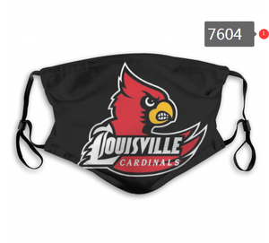 Louisville Cardinals Face Mask - Reuseable, Fashionable, Washable
