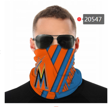 Load image into Gallery viewer, Miami Marlins Face Mask - Bandana, Neck Gaiter, Reuseable, Washable