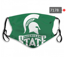 Load image into Gallery viewer, Michigan State Spartans Face Mask - Reuseable, Fashionable, Washable