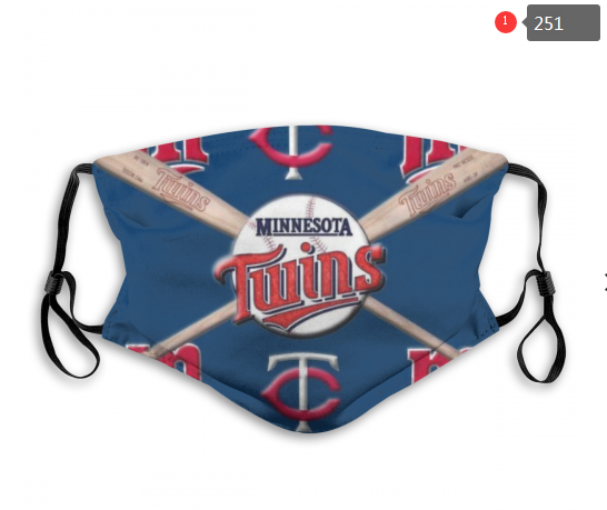 Minnesota Twins Face Mask - Reuseable, Fashionable, Several Styles