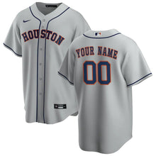 Load image into Gallery viewer, Houston Astros Jersey - Custom Name and Number - Grey