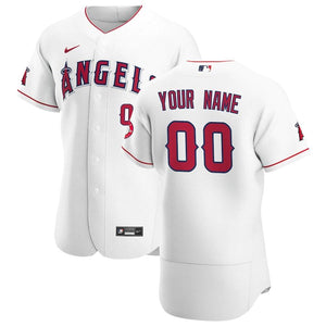 LA Angels of Anaheim Jersey - Custom Name and Number - White