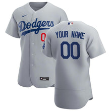 Load image into Gallery viewer, Los Angeles Dodgers Jersey - Custom Name and Number - Grey