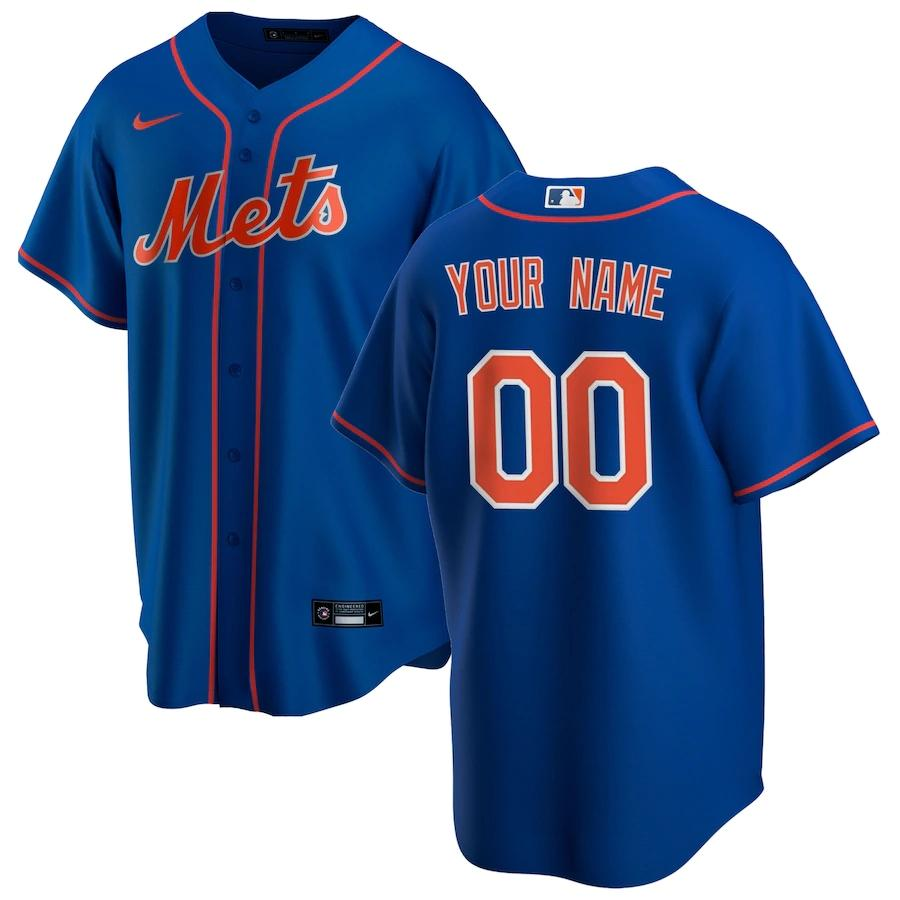 New York Mets Jersey - Custom Name and Number - Royal