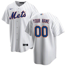 Load image into Gallery viewer, New York Mets Jersey - Custom Name and Number - White