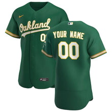 Load image into Gallery viewer, Oakland Athletics Jersey - Custom Name and Number - Green