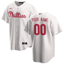 Load image into Gallery viewer, Philadelphia Phillies Jersey - Custom Name and Number - White