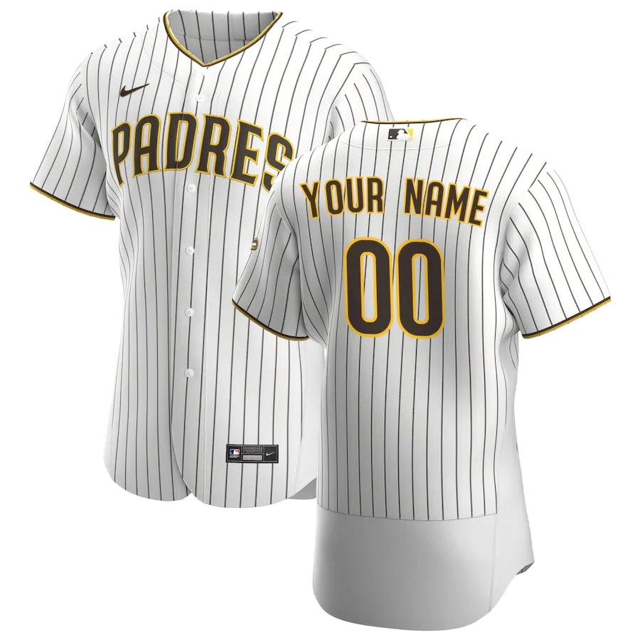 San Diego Padres Jersey - Custom Name and Number - White