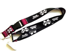 Load image into Gallery viewer, Mississippi State Bulldogs reversible lanyard keychain