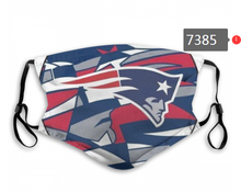 Load image into Gallery viewer, New England Patriots Face Mask - Reuseable, Fashionable, Several Styles