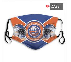 New York Islanders Face Mask - Reuseable, Fashionable, Washable, Several Styles