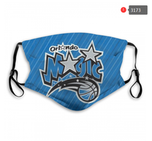 Load image into Gallery viewer, Orlando Magic Face Mask - Reuseable, Fashionable, Washable