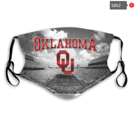 Oklahoma Sooners Face Mask - Reuseable, Fashionable, Several Styles