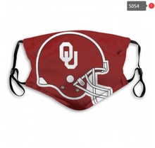 Load image into Gallery viewer, Oklahoma Sooners Face Mask - Reuseable, Fashionable, Several Styles