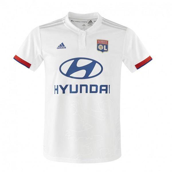 Olympique Lyonnais Home 19/20 Jersey - Custom Any Name or Number