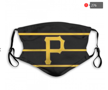 Load image into Gallery viewer, Pittsburgh Pirates Face Mask - Reuseable, Fashionable, Several Styles