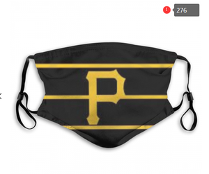 Pittsburgh Pirates Face Mask - Reuseable, Fashionable, Several Styles