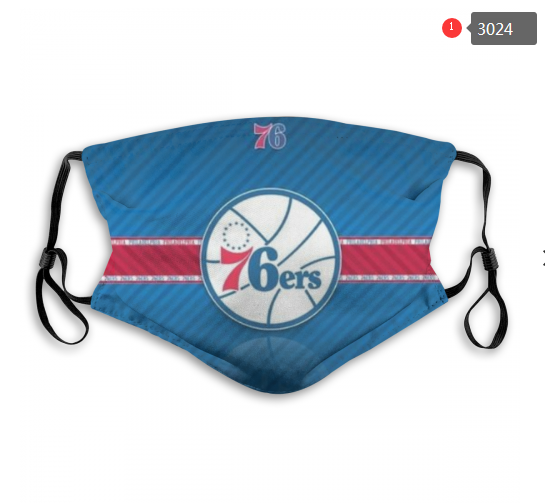 Philadelphia 76ers Face Mask - Reuseable, Fashionable, Washable, Several Styles