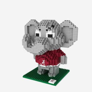 Alabama Crimson Tide Lego Style - Big Al BRXLZ Mascot