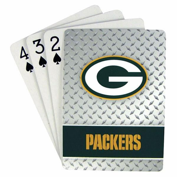Green Bay Packers Playing Cards - Diamond Plate