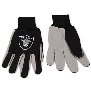 Las Vegas Raiders Gloves - Utility Work Gloves