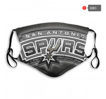 Load image into Gallery viewer, San Antonio Spurs Face Mask - Reuseable, Fashionable, Washable