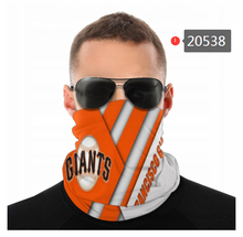 Load image into Gallery viewer, San Francisco Giants Face Mask - Bandana, Neck Gaiter, Reuseable, Washable