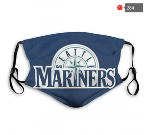 Seattle Mariners Face Mask - Reuseable, Fashionable, Several Styles