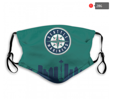 Load image into Gallery viewer, Seattle Mariners Face Mask - Reuseable, Fashionable, Several Styles