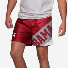 "Load image into Gallery viewer, Alabama Crimson Tide Shorts - Big Logo 5.5"" Swimming Trunks"