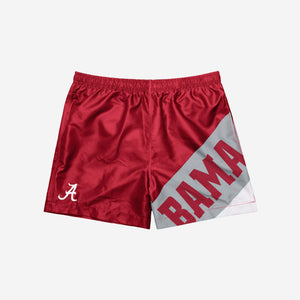 "Alabama Crimson Tide Shorts - Big Logo 5.5"" Swimming Trunks"