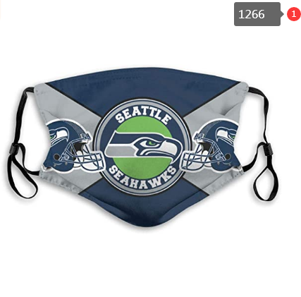 Seattle Seahawks Face Mask - Reuseable, Fashionable, Several Styles