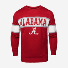 Load image into Gallery viewer, Alabama Crimson Tide Sweater - Vintage Stripe