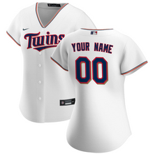 Load image into Gallery viewer, Minnesota Twins Jersey - Custom Name and Number - Women's White