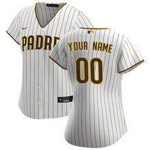 Load image into Gallery viewer, San Diego Padres Jersey - Custom Name and Number - Women's White
